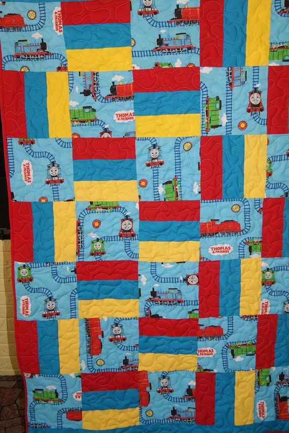 Thomas the Tank 2 in 1 Toddler Quilt