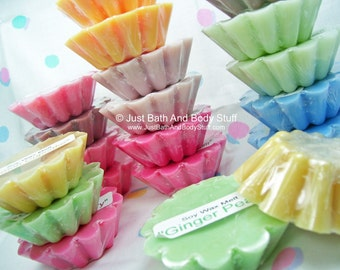 Lot 10 Soy Wax Wickless Candle Tarts Melts - Your Choice of 5 Scents