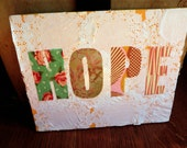 Canvas Art- Always Have Hope