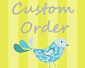 Custom Order for meganjrichards