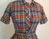 Vintage- Bobbie Brooks 50's Day Dress - SALE