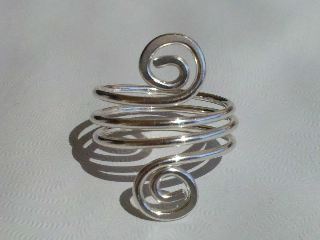sterling silver simple wire ring by silvercreations11 on etsy