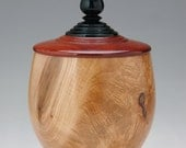 Maple, Ebony Keepsake or Pet Urn