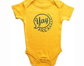 San Francisco Yay Area Baby Snapsuit Onesie