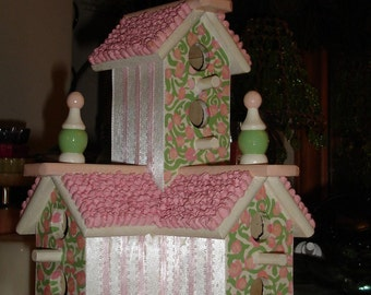 Wedding Chapel Decorative Birdhouse