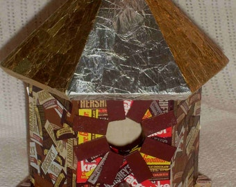 Yummy Hershey House Decorative Birdhouse