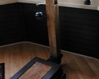Antique Floor Weight Grain Scale