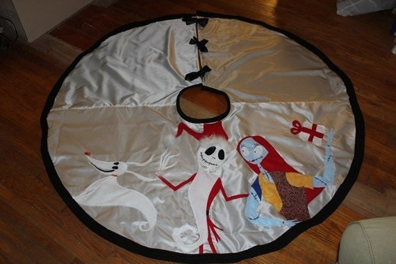 Items similar to Nightmare Before Christmas Tree Skirt on Etsy