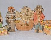 Custom Order Tonia- Pirate set, Mermaid Set, Anchor and Swallow Teether