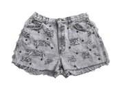 Vintage Acid Wash Ripped Studded Shorts 31