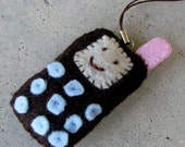 Felt Cellphone Charm