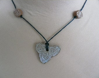 Yellow heart necklace