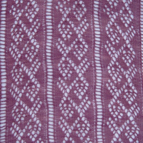 Ladder Lace Knitting Pattern : Knit Shawl Pattern: Ladder and Lace Light Wrap Knitting ...