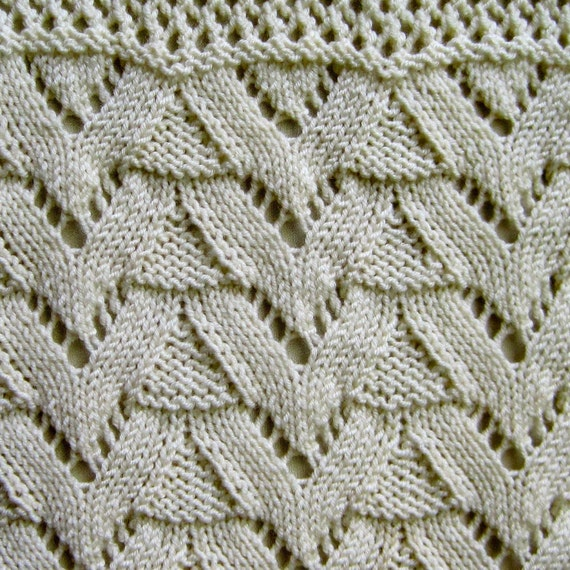 Knitting Pattern For Sampler Scarf : Knit Scarf Pattern: Lace Sampler Scarf Number Two Knitting Pattern from Weara...