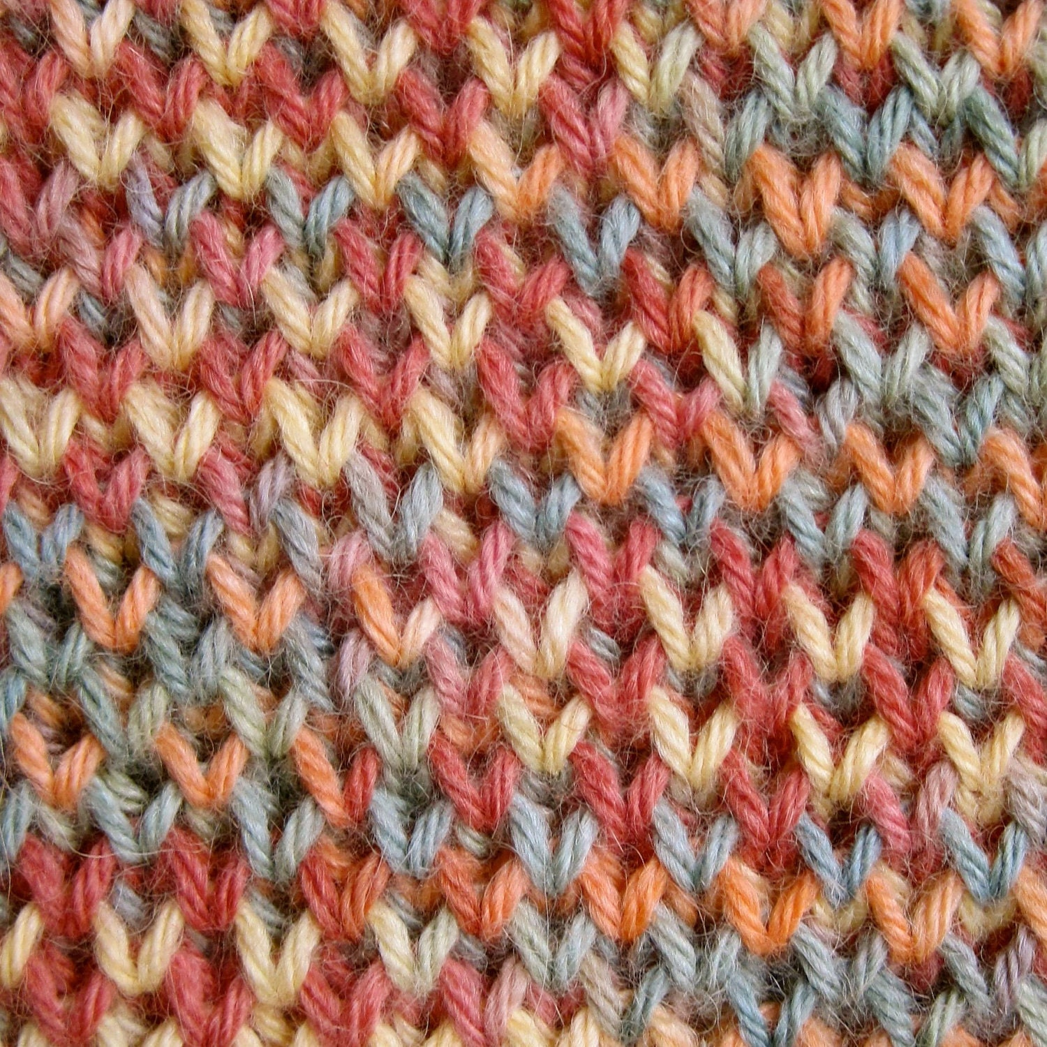 Knit scarf pattern single and double brioche stitch scarf zoom bankloansurffo Image collections