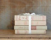 RESERVED Vintage Book Collection - Shabby Chic - Set of Four