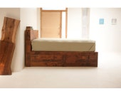 Reclaimed Old Growth Storage Bed
