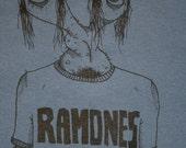 RAMONES Boyfriend punk rock T Shirt