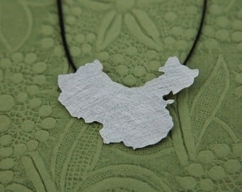 China adoption necklace china pendant - Adoption sterling silver necklace