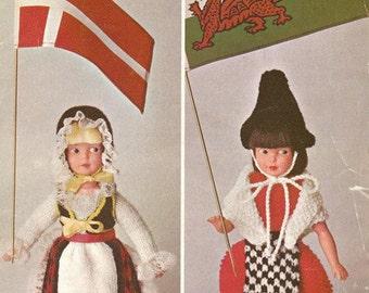 Knitting Patterns For Welsh Dolls : welsh costume   Etsy