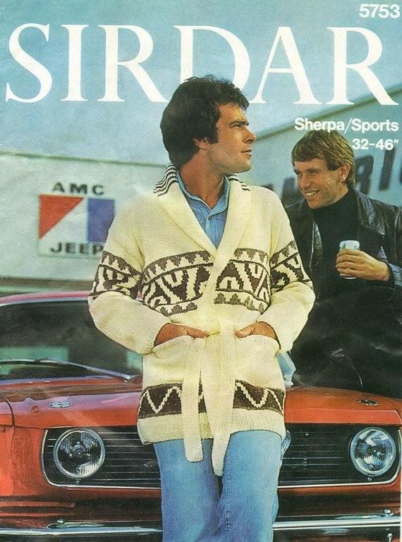 Sirdar 5753 Starsky Meets Hutch Vintage Knitting Pattern