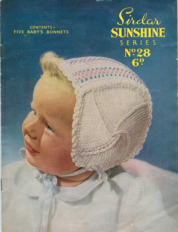 Free Sirdar Knitting Patterns To Download : Sirdar Sunshine 28 Vintage Knitting by vintagemadamedefarge