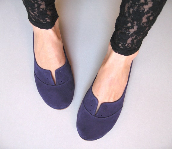 Violetta Lovely Handmade Leather Oxford Shoes
