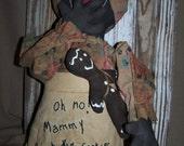 OOAK Handmade Primitive Mammy Doll