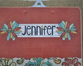 Teacher Clipboard - The Jennifer  - Customize for Anyone