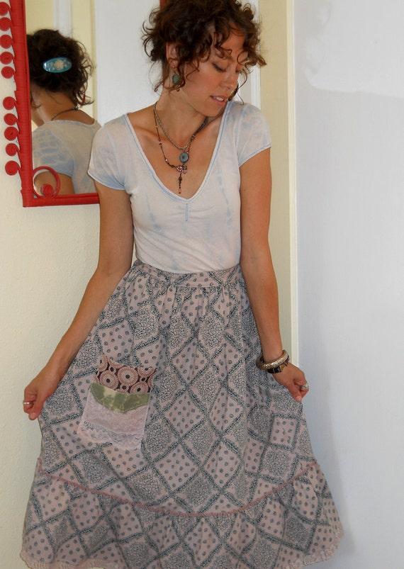 HALF OFF Eco Altered Prairie Girl Skirt... size Medium