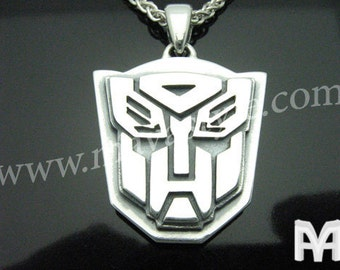 Sterling Silver Transformers Pendant