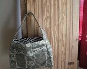 Digital acu purse/diaper bag