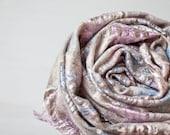 Infinity Scarf Versatile Scarf Cowl Loop Circle Scarf Wool Silk Natural Pastel Beige Brown neutral shabby chic Men Women elitett tbteam