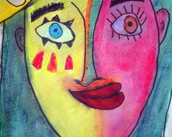 Picasso Inspired, outsider art