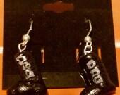 Firefly Dangly River Tam Charm Earrings