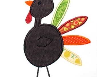 Turkey Applique Design