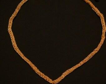 Sea Sediment Jasper Cross Necklace