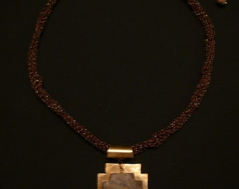 Patinaed Necklace