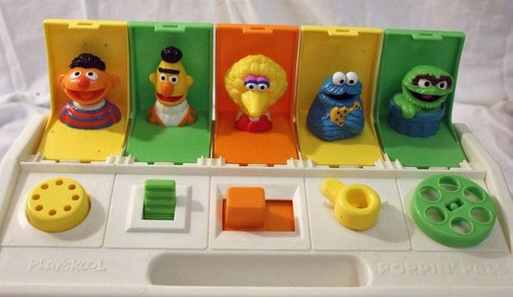Poppin Pals Sesame Street Pop Up Toy