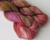 LUSH II Baby alpaca silk lace yarn, Sangria