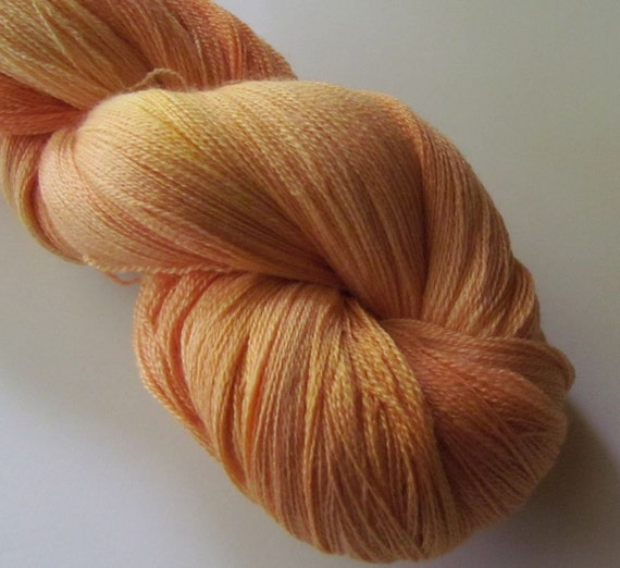 BUTTER Superwash yarn merino silk lace, Kindness