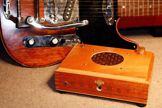 Gourmet: a 9V Guitar Practice Amp Combo