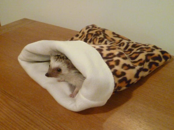 Nugget Designed Snuggle sac for Hedgehogs and small pets