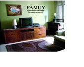 Inspirational Wall Decal about Family