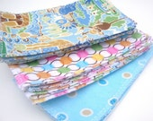 Cloth Baby Wipes - Flannel - Small - 10 pack - Reusable