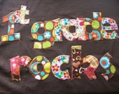 Groovy Prints 1st Grade Rocks Tshirt Flower Power