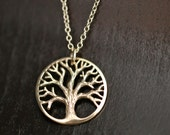 Detailed Tree of Life Necklace