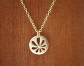 Wabi Sabi Flower Necklace