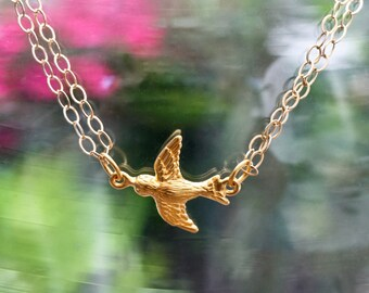 The Loyal Sparrow Necklace-SALE