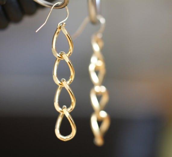 Broken Chains  Charity Earrings